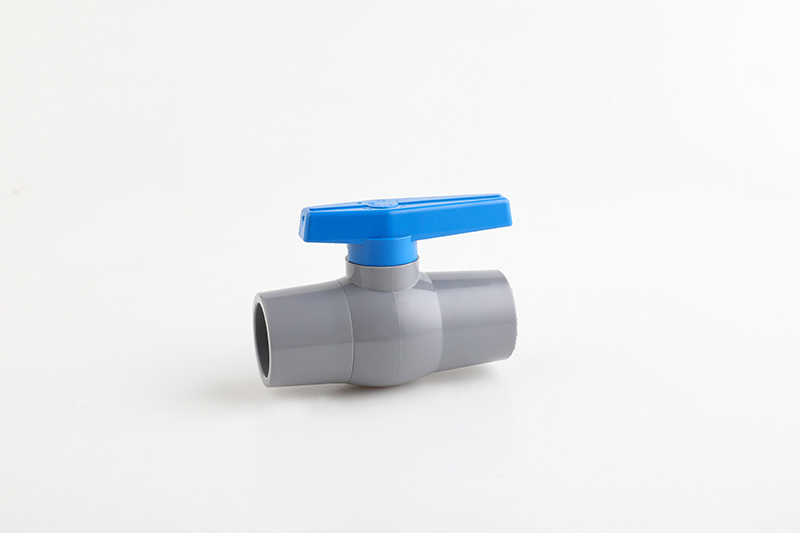 ultraonic pvc ball valve with long handle